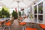 DORMERO Hotel Dresden Airport Biergarten