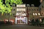 DORMERO Hotel Dresden Airport Aussenansicht Nacht
