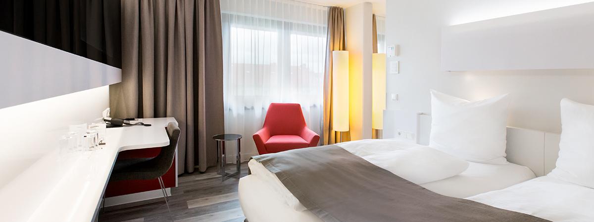 Dormero hotel hannover moderne g nstige zimmer for Zimmer hannover