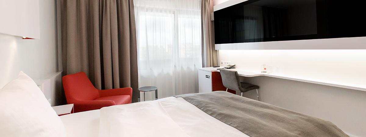 Dormero komfort zimmer dormero hotel hannover for Zimmer hannover