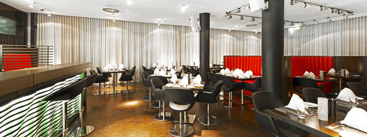 restaurant bar dormero hotel frankfurt messe. Black Bedroom Furniture Sets. Home Design Ideas